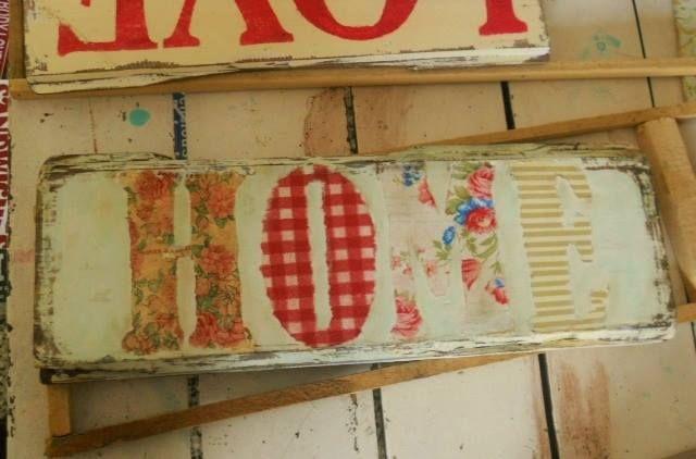 1 carteles cuadros vintage palabras retro madera - Cuadros vintage madera ...