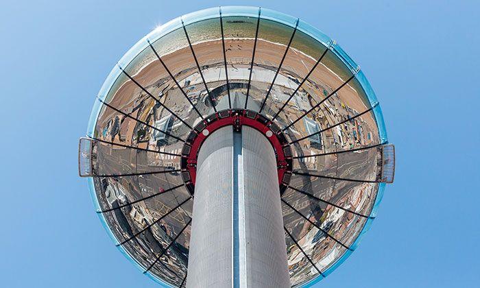 Brighton má 162metrovou vyhlídkovou věž i360