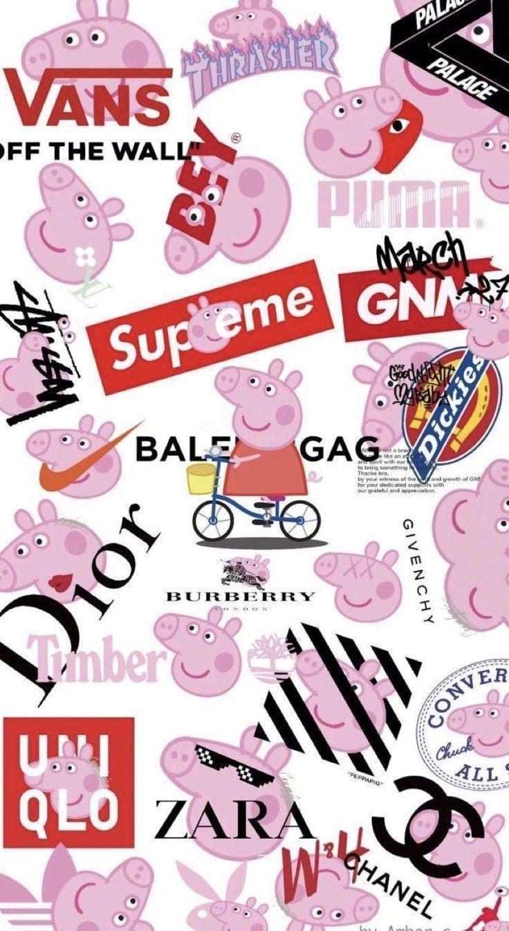 Pin by 🪐𝑣𝑖𝑏𝑒 𝐶ℎ𝑒𝑐𝑘🪐 on ♡︎baddie♡︎ in 2020 Pig wallpaper