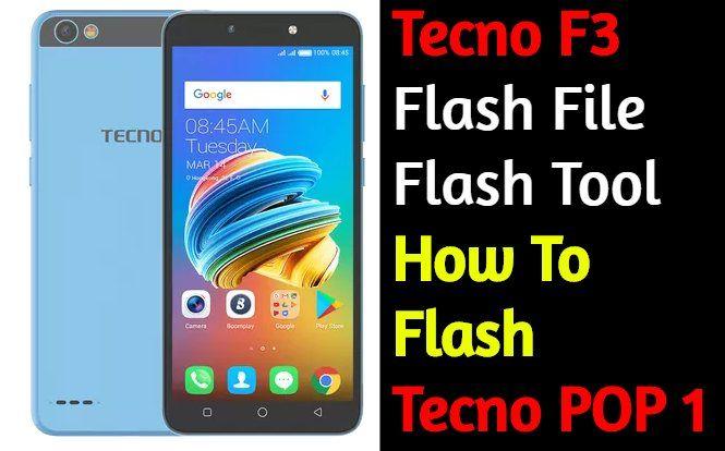 Tecno In3 Flash Tool