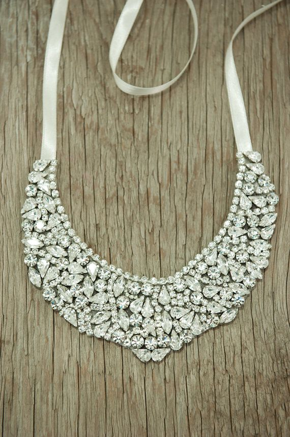 Bridal Statement Necklace Wedding Jewelry bridal by Hinuma on Etsy, $220.00