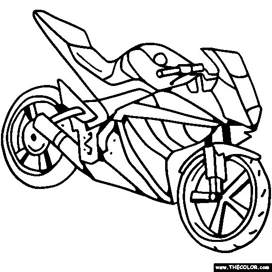 sportbike coloring pages | 74 best images about Race / Motorcycle Birthday Party on ...