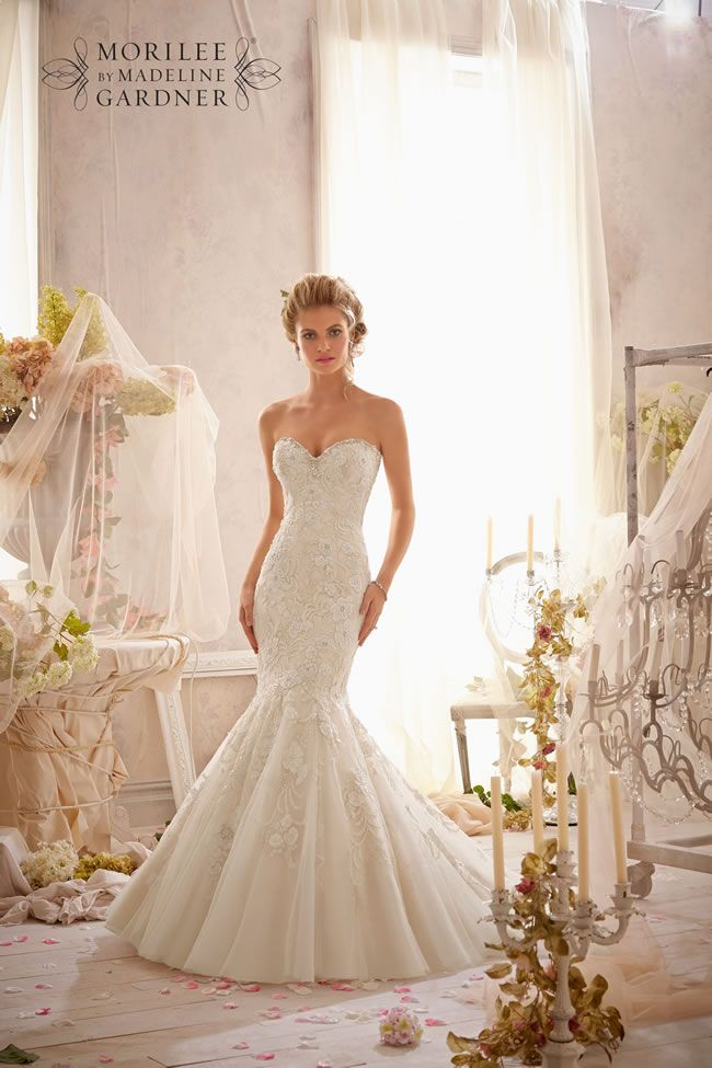 Mori Lee 2623 wedding dress • The latest Mori Lee bridal collection is full of gorgeous sparkly princess gowns