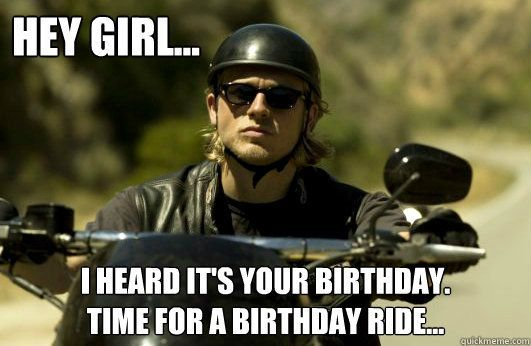 Badboys Deluxe Charlie Hunnam: Sons Of Anarchy. Jax Teller #birthday #meme