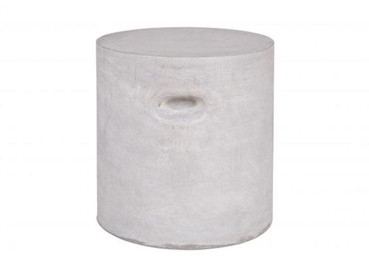 Stolik gliniany w krztałcie walca Stone