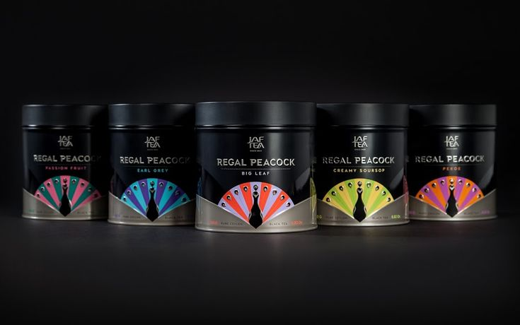 Regal Peacock on Packaging of the World - Creative Package Design Gallery