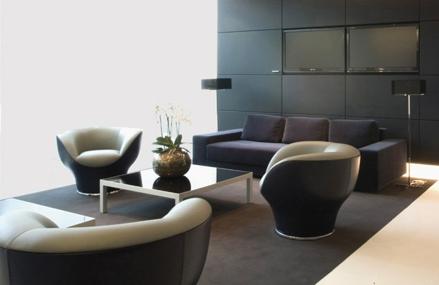 CAPPELLINI - Igloo armchairs by Koivisto @Permal offices