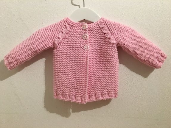 Rosa babyjakke