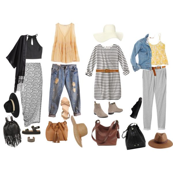 Summer Travel Series: Stay Cute on Board - Air Travel Outfits by tarakline on Polyvore featuring Mes Demoiselles..., STELLA McCARTNEY, H&M, Monki, Thakoon Addition, Prezioso, Converse, Topshop, Cleobella and Coach