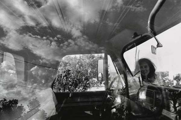 Lee Friedlander (born July 14, 1934) is an American photographer.  In the 1960s and 70s, working primarily with 35mm cameras and black and white film, Friedla