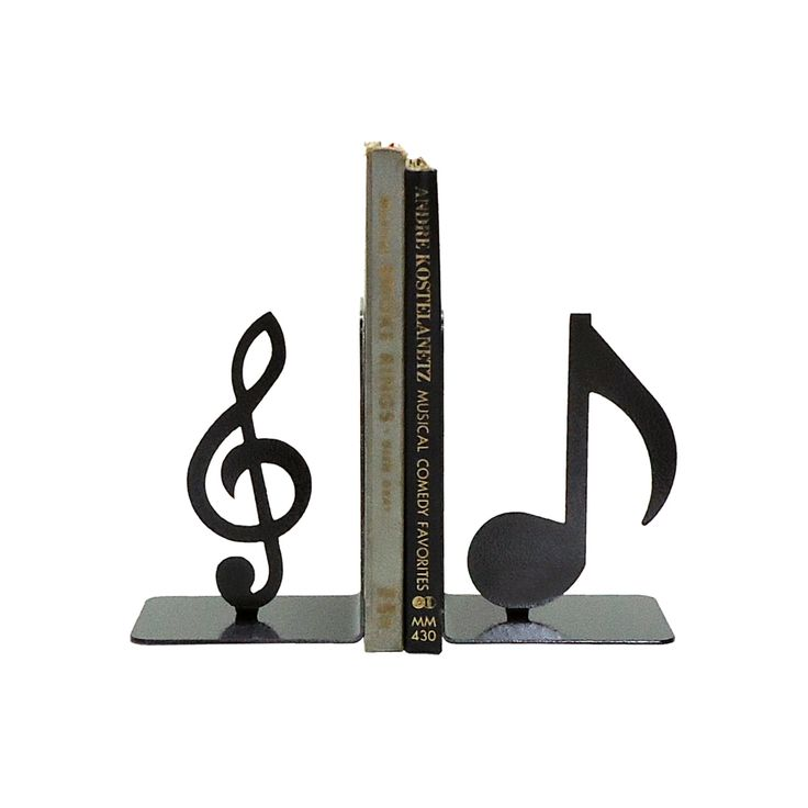 149 best images about best bookends on pinterest - Treble clef bookends ...