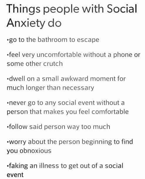 I think I might have social anxiety disorder...what should I do?