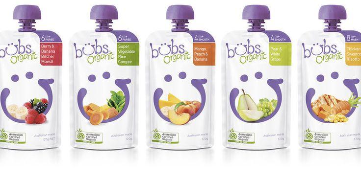 Bubs Organic Baby Food