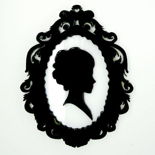 Victorian Cameo Silhouette