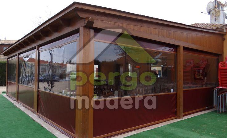 Porches de madera de exterior o acristalados su porche de madera con la mejor calidad garant a - La mejor madera para exterior ...