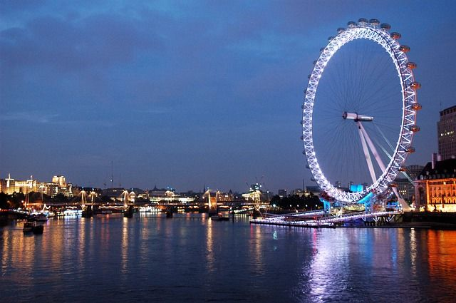 London Eye (starting at £64.89), a giant Ferris Wheel on the South Bank of the River Thames in London. Also included in the ticket price is a 4D cinema experience. Hyde Park is one of the largest parks in London, and one of the Royal Parks of London