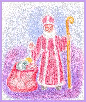 Advent ~ Saint Nicolas ~ Song & Craft ~ homeschool curriculum sample