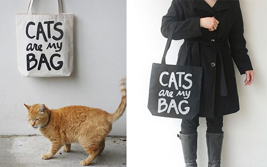 Xenotees-For cat lovers, beautiful totes.