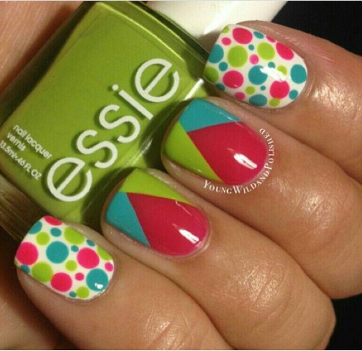 Mejores 82 imágenes de uñas en Pinterest | Diseño de uñas, Arte de ...
