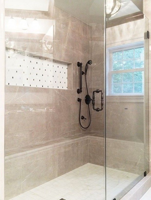 Walk In Shower Enclosure With Drying Area Bathroom