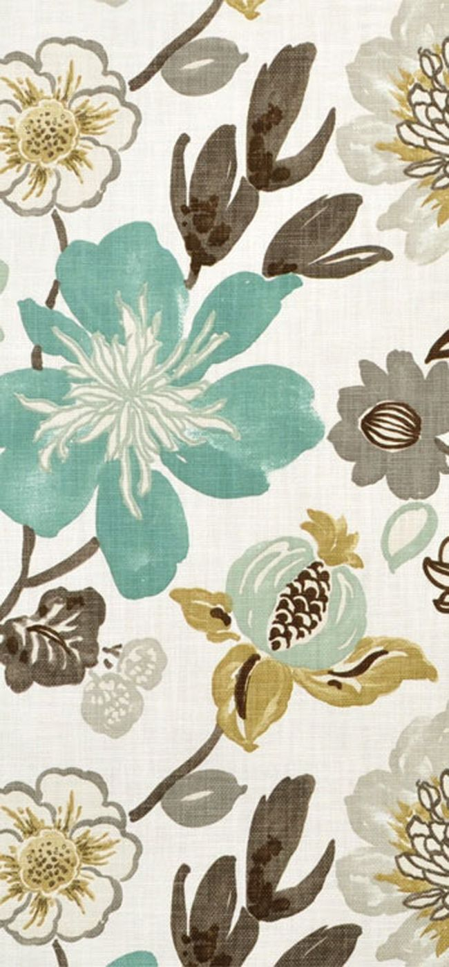Best 25+ Floral fabric ideas on Pinterest | Colorful wallpaper ...