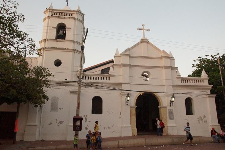 Church in Santa Marta in Colombia.