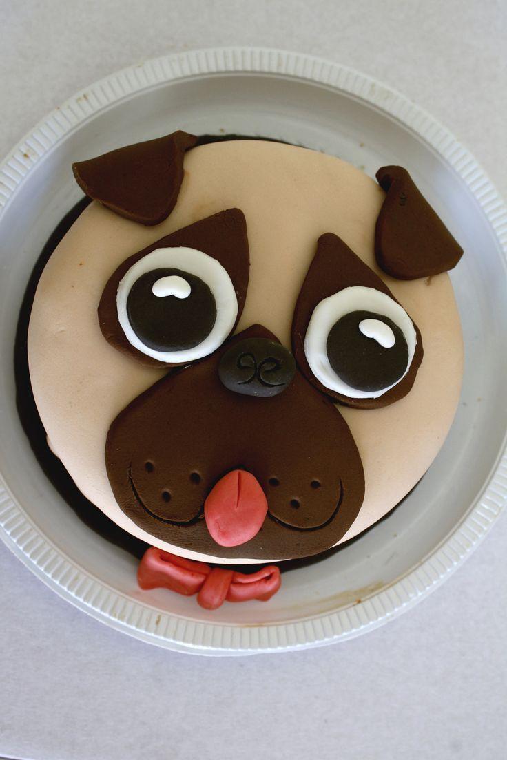 How To Make A Pug Face Cake