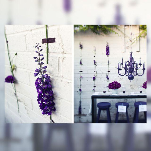 La Musa Decoración: -INSPIRATION DAY- Flores en la pared