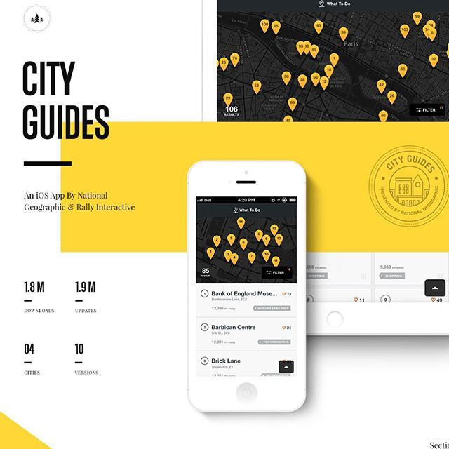 National geographic by Ben Cline  #digital #interface #mobile #design #application #ui
