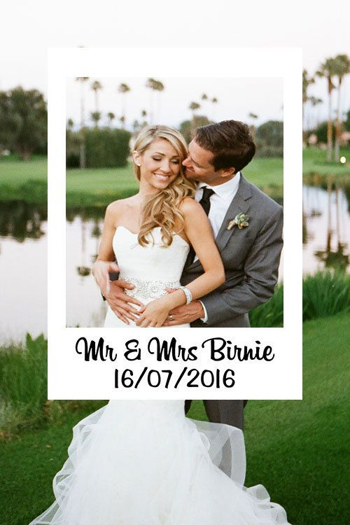 Custom Instagram Photo Booth Frame Wedding Frames Digital Props