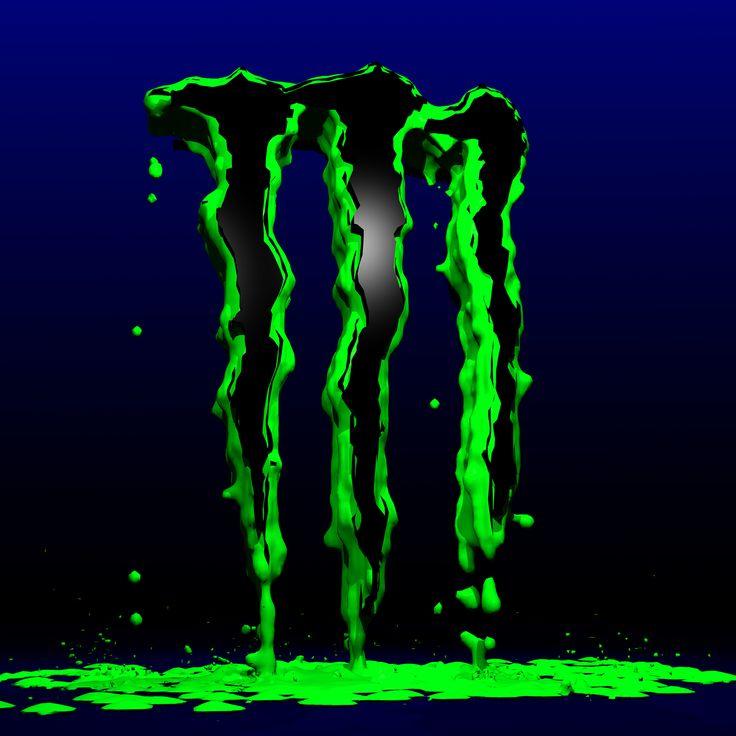 Monster Logo Monster energy, Monster energy drink