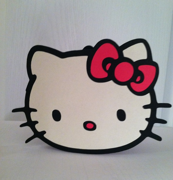 Hello Kitty Card Hello Kitty Birthday Card - if I hadn't already ordered her invites,totally wld of gotten these.
