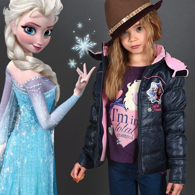 Shooting Photo Tous-les-Héros Manteau Doudoune La Reine des Neiges Tee-shirt La Reine des Neiges  #touslesheros #tlh #mode #enfant #frozen #ReineDesNeiges #Elsa #Anna #Arendelle #Princesses #princess #disney #girly #style