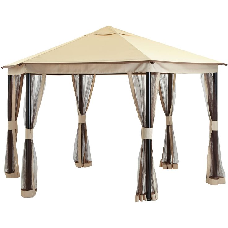 1000 ideas about hexagon gazebo on pinterest gazebo for Hexagonal roof framing