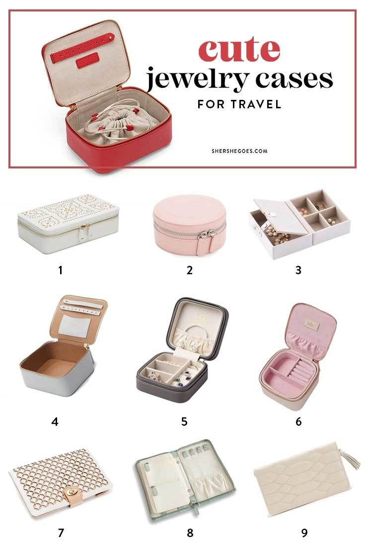 The Best Travel Jewelry Cases – Never Untaggle a Necklace Again!