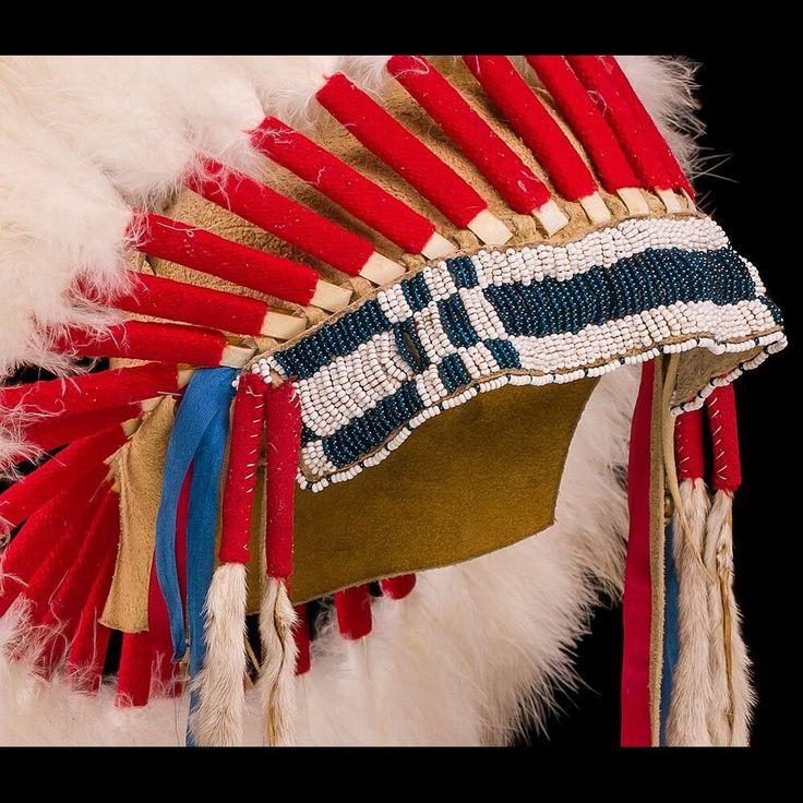Индейский головной убор в стиле Шайенов 3000.15.01 (фото 2) ☩ «4Colors»™