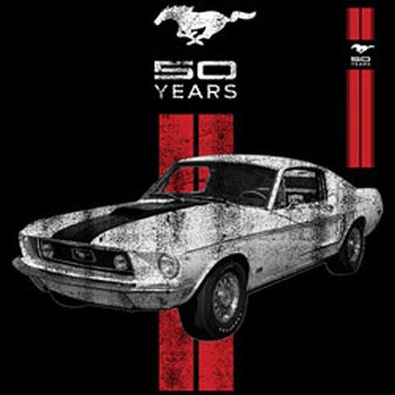 Ford Mustang 50 Years Adult Unisex T Shirt 19240E1
