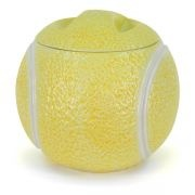 *CLARKE CERMAIC TENNIS BALL ~ Cookie Jar: Cookie Jars, Cookies Jars