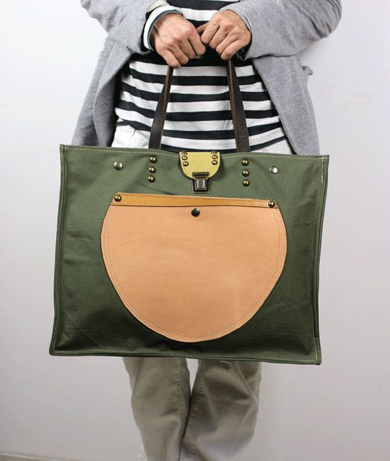 Oversized Tote Bag Canvas