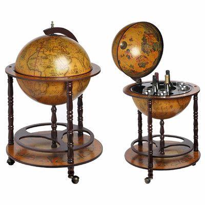 Hill Interiors Globe Drinks Cabinet & Reviews | Wayfair UK