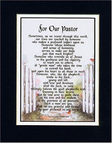 Gift For A Pastor. Touching 8x10 Poem, Double-matted in Navy/ White and Enhanced with Watercolor Graphics. by Poems For Occupations, http://www.amazon.com/dp/B00112AM7W/ref=cm_sw_r_pi_dp_BdEpsb0M3NYMH