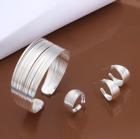 Be special: Fashion Jewelry Set, 925 Sterling silver jewelry s...