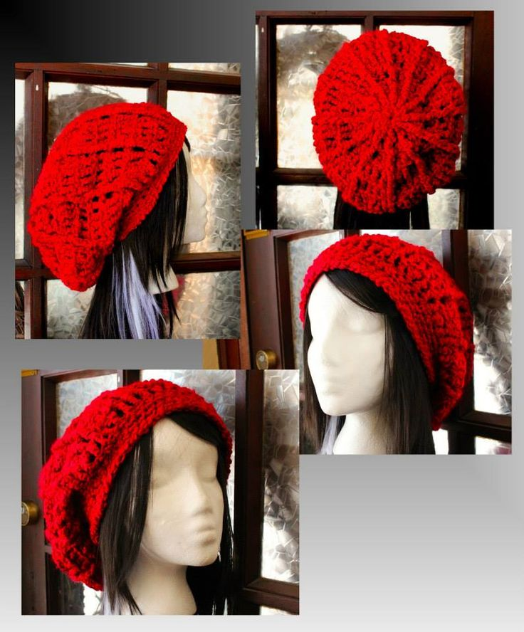 Lovely and cozy slouchy hat 100% acrylic