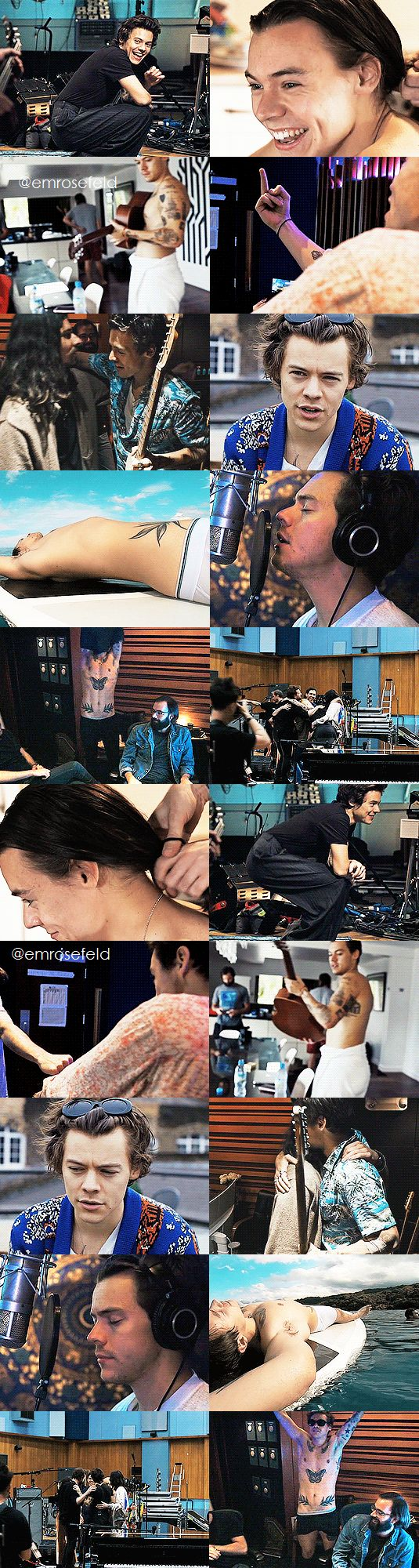 Harry Styles | Behind the Album | emrosefeld |