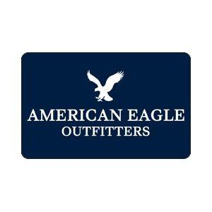 American Eagle Gift card so I can shop for jeans and maybe a few new shirts!