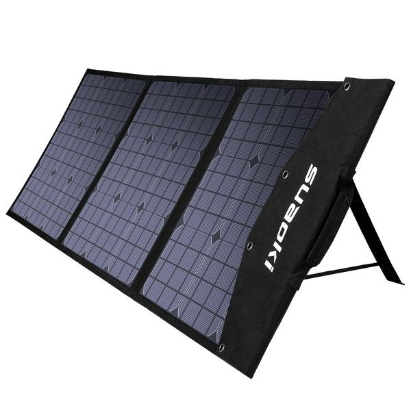 Suaoki 120w Solar Charger Foldable Solar Panel For Smartphones Laptops Car Battery Power Stations Wish In 2020 Solar Charger Car Battery Power Station