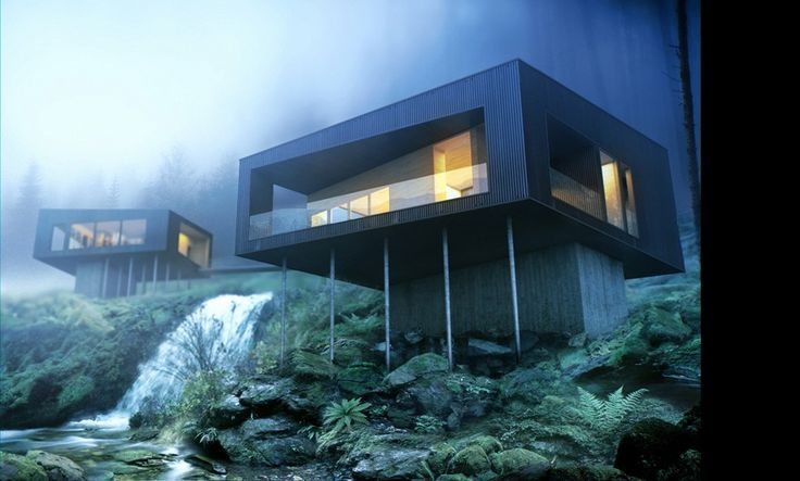 Salt Spring Island by Saunders Architecture