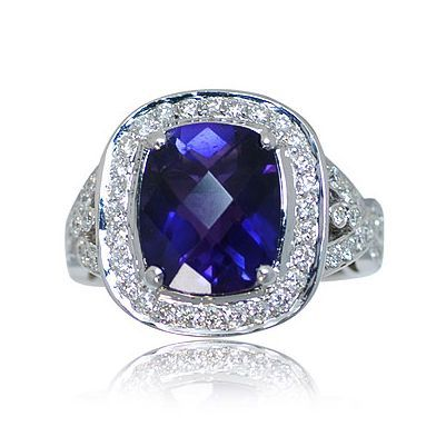 Check out one additional breathtaking colored gem stone ring - Parris Jewelers #gemstonering