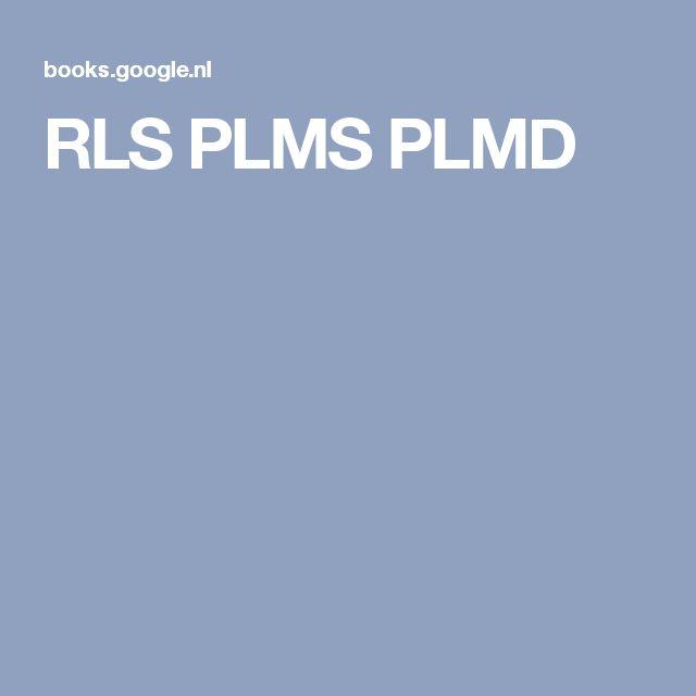 RLS PLMS PLMD