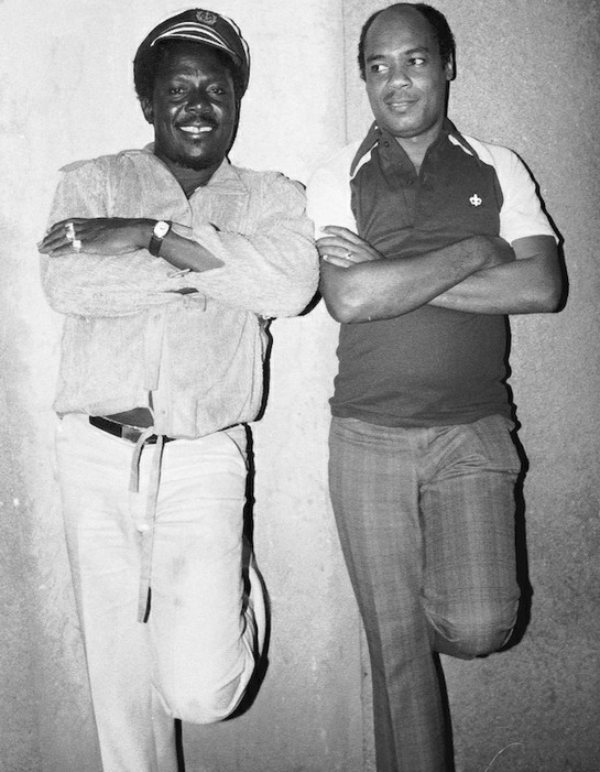 I ROY with KING TUBBY © Syphilia Morgenstierne
